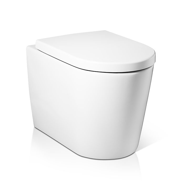 Squat Toilet Minimalist Bathroom: Dean Back To Wall Toilet W351-1091-M2