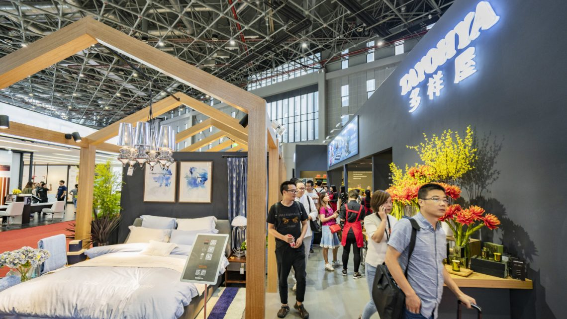 Axent Joined Tayohya At China International Furniture Fair Axent